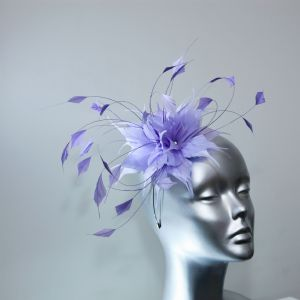 Wisteria Lilac Wedding Fascinator Simply Devine Hat Shop NR304